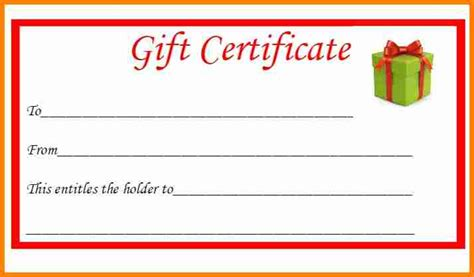 printable gift certificates templates free 8 free printable gift certificates budget template
