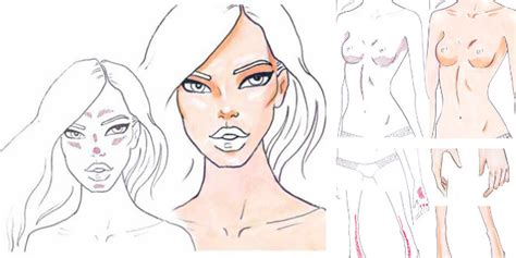 how to color skin how to draw skin shadows i draw fashion