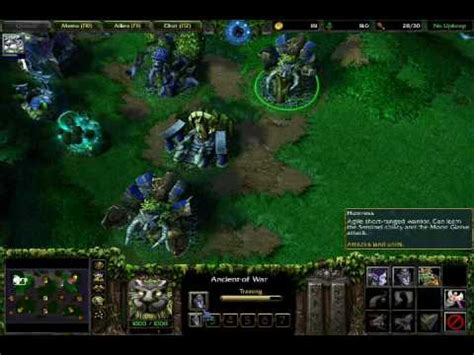 tutorial warcraft 3 warcraft iii huntress tutorial youtube