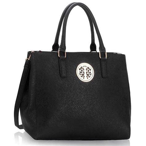 Handbag Tote Bag Black black shoulder bags for bags more
