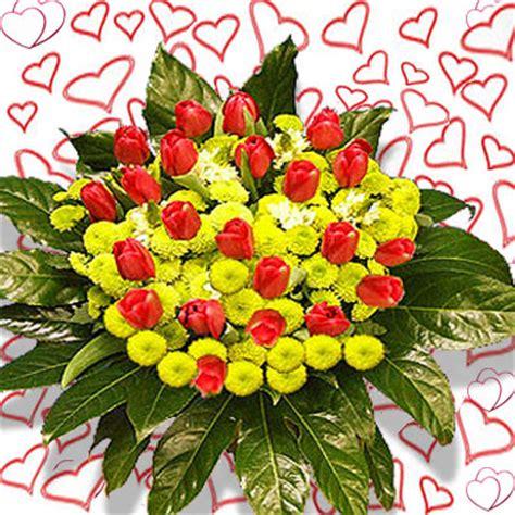 mazzo di fiori per san valentino san valentino inviare fiori domicilio