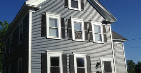 charming Grey House With Black Trim #2: bef8fd19b8e1cb497e886503f2481e23.jpg