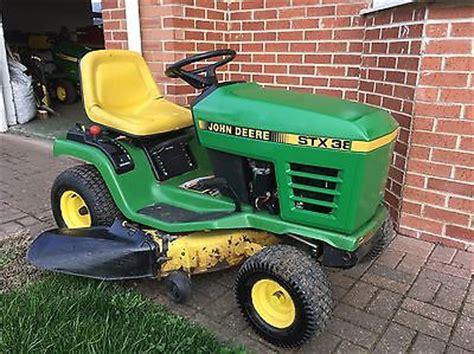 John Deere Stx38 Ride On Lawn Mower Yellow Deck Manual