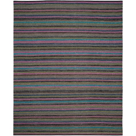 grey striped area rug safavieh striped kilim grey multi 5 ft x 8 ft area rug stk421c 5 the home depot