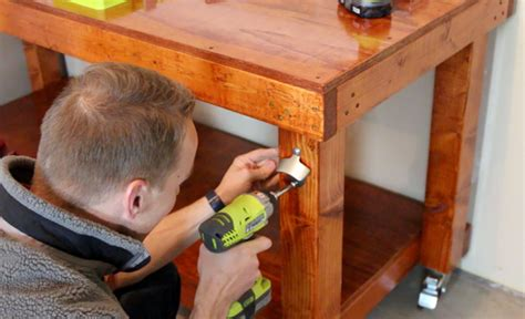work bench for kids diy simple workbench project woodworking bench