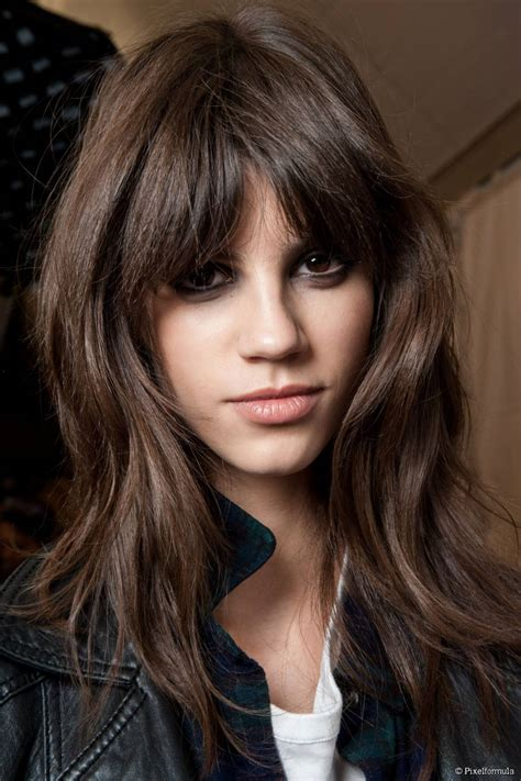 bangs for oblong faces and thick hair 1000 images about hail to the gringe on pinterest