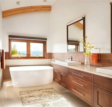 idee per il bagno foto foto di 25 bagni rustici per idee di arredo con questo