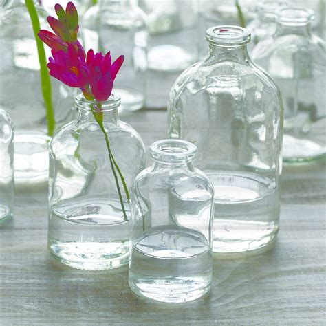Glass Bottle Vases glass bottle vase by lindsay interiors