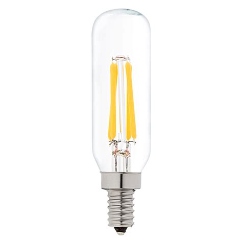 Clear Led Light Bulbs T8 Led Filament Bulb 40 Watt Equivalent Candelabra Led Vintage Light Bulb Radio Style