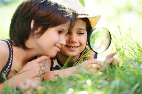 children in nature ecowalkthetalk