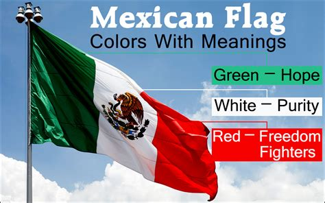 colors of the mexican flag the interestingly gripping history of the mexican flag