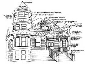 Victorian Home Design Elements by Queen Anne Victorian Architectural Details Queen Anne