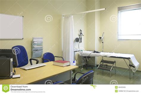 doctor room hospital doctor room with equipment and desk stock image image 40403455