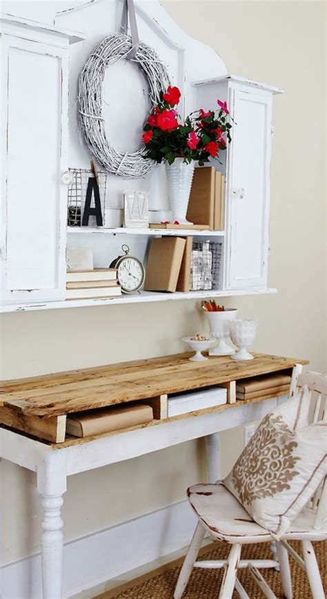 Shabby Chic Desk Accessories 41 Sophisticated Ways To Style Your Home Office Loombrand
