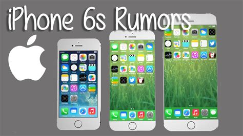 iphone  rumors double  ram  force touch technology youtube