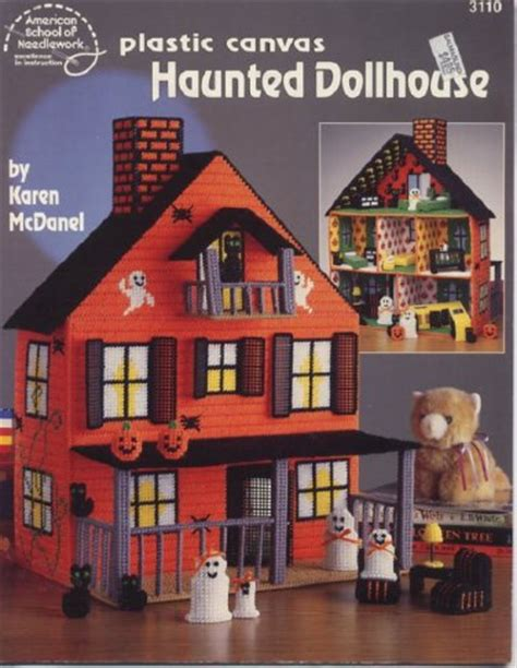haunted dollhouse book plastic canvas haunted dollhouse book american school of