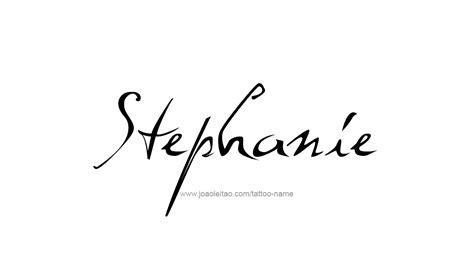 stephanie tattoo name designs