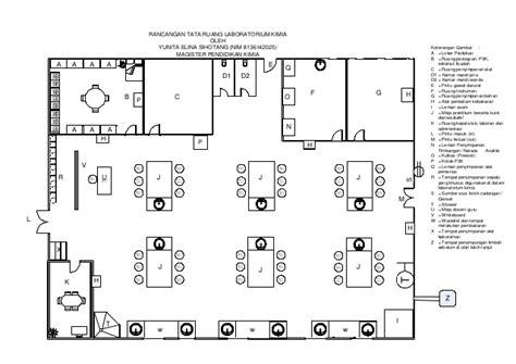layout laboratorium kimia rancangan laboratorium kimia sma