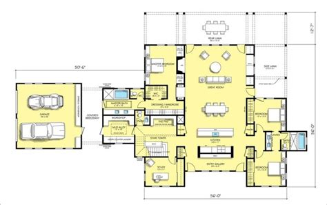 farmhouse modern traditional floor plan san