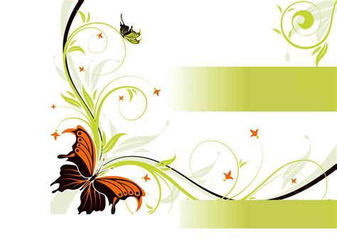 ppt templates free download butterfly floral butterfly design backgrounds presnetation ppt