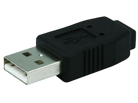 Usb Adapter usb 2 0 a to mini 5 pin b5 adapter monoprice