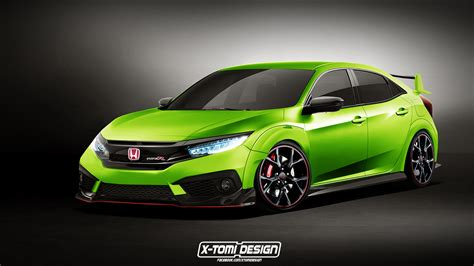Velk R Rr Made In Thailand x tomi design honda civic type r hatchback