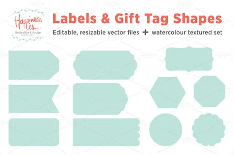 Gift Tag Label Template by Gift Tag Template 27 Free Printable Vector Eps Psd