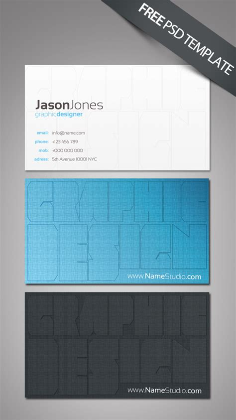 best business card templates free 40 best free business card templates in psd file format