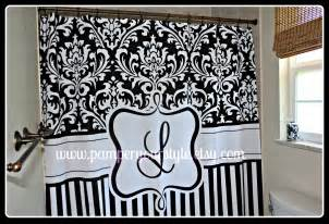 On sale damask and stripe black and white by pamperyourstyle