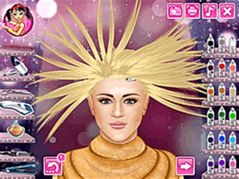 haircut games of hannah montana play hannah montana real haircuts game online y8 com