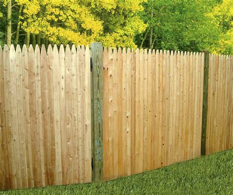 fence sections for sale fence stunning stockade fence design cheap stockade fence