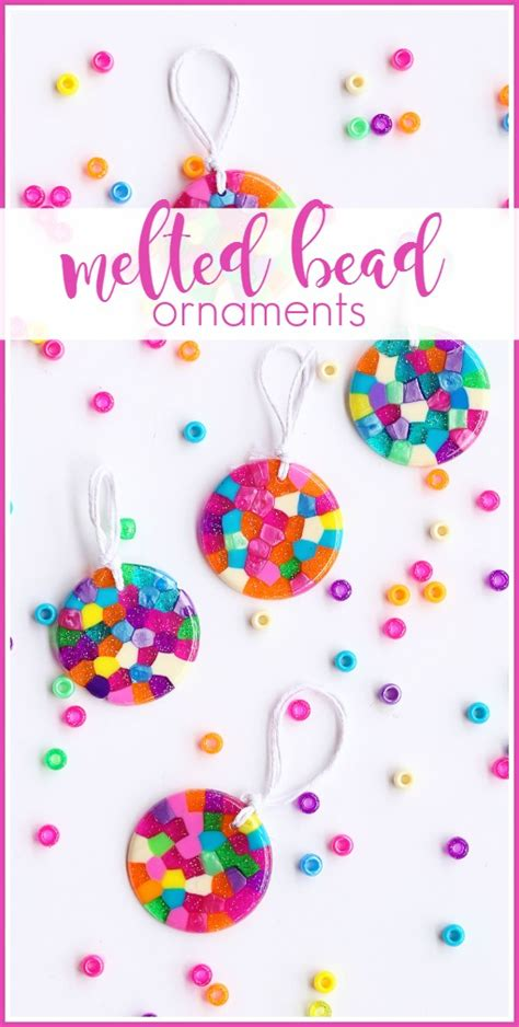how to melt pony melted bead ornaments sugar bee crafts