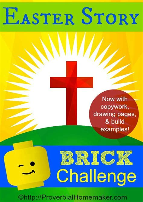 lego challenges for children easter story brick challenge proverbial homemaker
