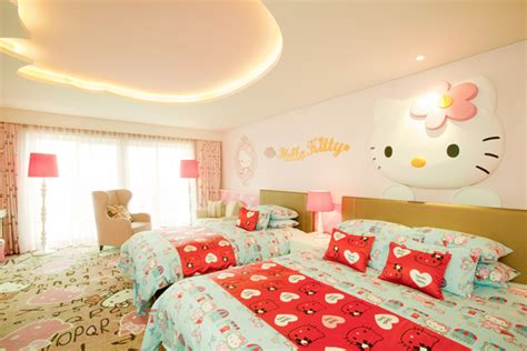 theme hotel room korea hello kitty room in lotte hotel jeju icosnap cute travel