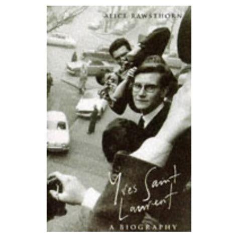 Ysl Biography Book | yves saint laurent book biography
