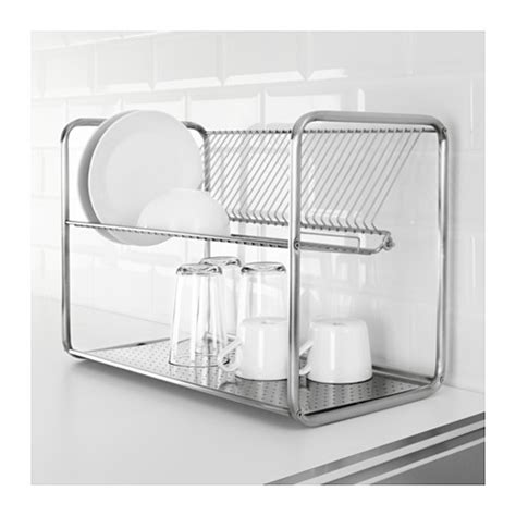 ordning ikea ordning dish drainer stainless steel 50x27x36 cm ikea