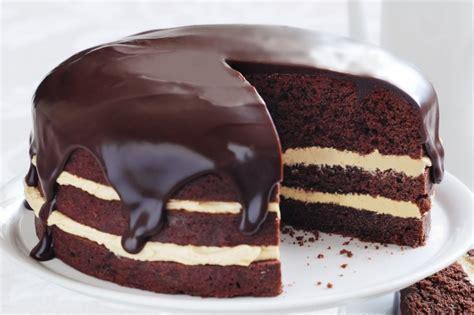 rich peanut butter and chocolate cake recipe taste com au