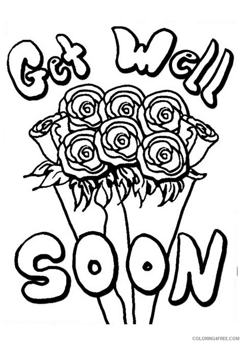 get well soon nana coloring pages get well soon cute coloring pages www pixshark com