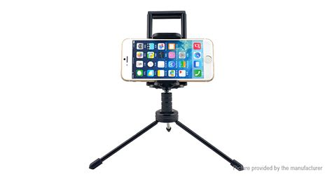 Tripod Mini Holder U Silver Gratis Paket Hadiah 11 59 mini tripod holder bracket for cell phone tablet 57 87mm 112 188mm cling