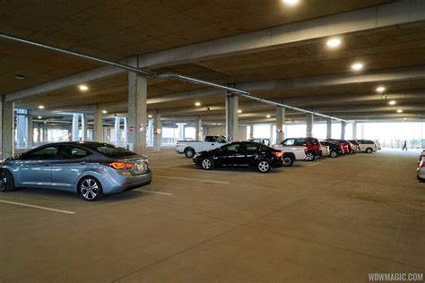 side parking garages disney springs west side parking garage opening day
