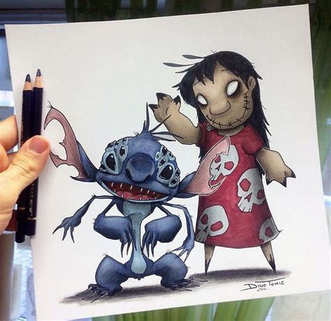 lilo amp stitch creepified art pinterest lilo stitch