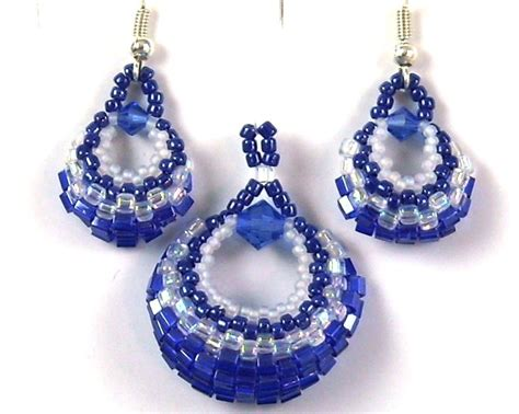 378 best images about beaded earrings hoops on