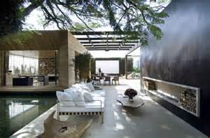 Indoor Outdoor Spaces Sao Paulo Contemporary Architecture Modern Indoor