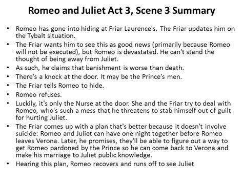themes of romeo and juliet act 3 scene 1 juliet summary