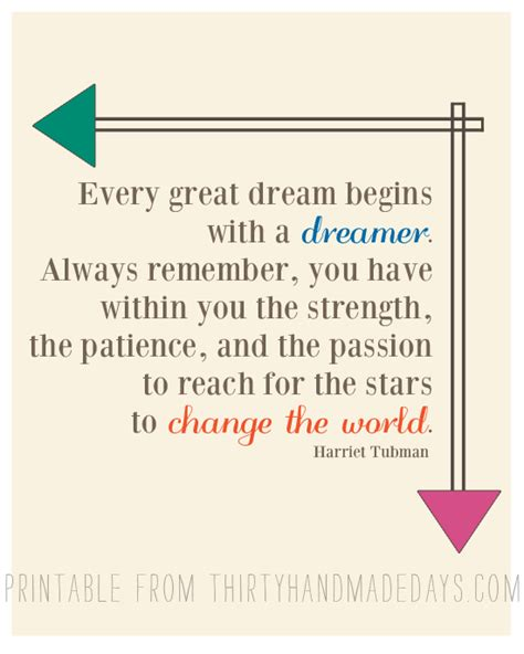 Printable Dream Quotes | printable quotes with dream quotesgram