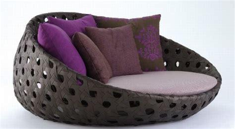 Circular Armchair by B B Italia Canasta Circular Armchair Designbuzz