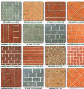 Textured Stone Spray Paint - prestige pattern paving s stenciled concrete