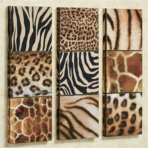 Leopard Rugs For Sale Exotic Patterns Wild Animal Print Canvas Art Set