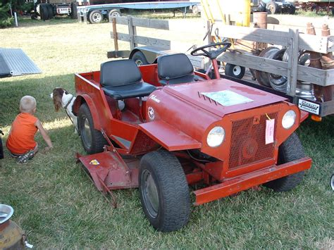 lawn mower jeep mower ewillys