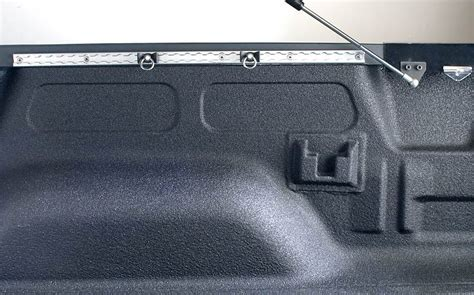 truck bed tie down system under tonneau cover uni trax tie down track